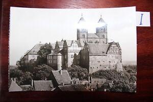 TempéRé Carte Postale Vue Carte Saxe-anhalt Quedlinburg-afficher Le Titre D'origine