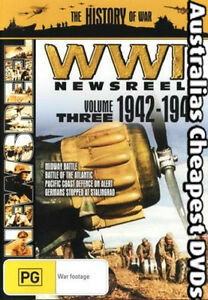 WWII-News-Reels-1942-1943-Volume-3-DVD-NEW-FREE-POSTAGE-WITHIN-AUST-REG-4