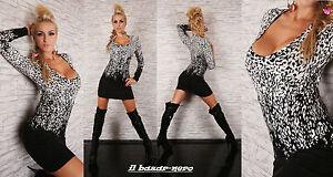 sexy-long-pullover-fantasia-astratta-con-strass-metallici-6-colori-tg-S-M-L-XL