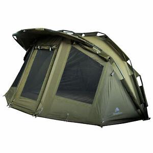 CampFeuer Angelzelt Storm I 2 Mann Karpfenzelt I Bivvy Zelt 3.000 mm I Carp tent