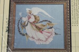 Lavender-amp-Lace-Counted-Cross-Stitch-Chart-Pattern-Angel-of-Summer-L-amp-L-26