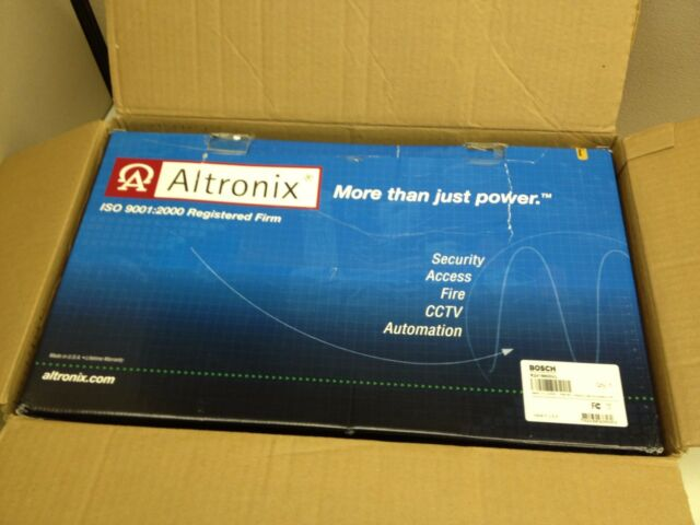 Altronix R2416600UL CCTV AC Rack Mount 16 Output Power Supply