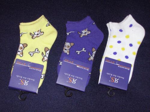RIESE Strümpfe 3er Pack Mädchen Sneaker 27-30 35-38 NEU Socken Söckchen