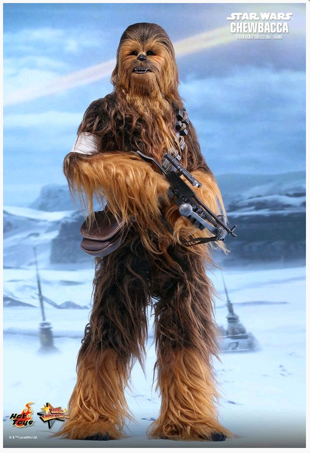 STAR WARS HOT TOYS CHEWBACCA EPISODE VII 1:6 SCALE ACTION FIGURE HOTMMS375