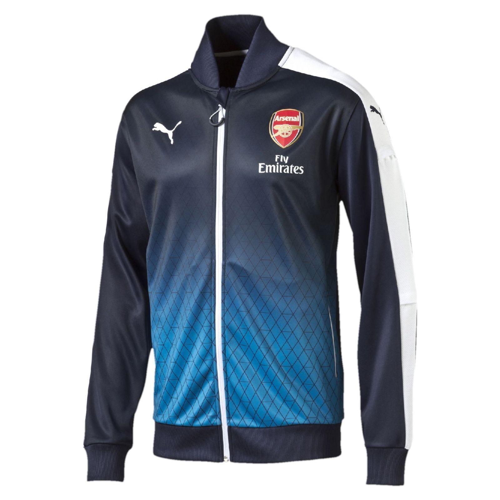 2015-2016 Puma Arsenal Londres Estadio chaqueta para hombre (pequeño)