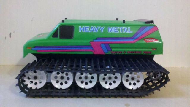 KYOSHO HEAVY METAL VINTAGE  BLIZZARD VAN TANK CLEAR BODY ONLY