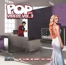 POP VIDEOS VOL. 3 (DVD) - DRAKE-LADY GAGA-KATY PERRY-MAROON 5-JUSTIN TIMBERLAKE