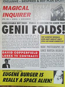 1995-Genii-Magazine-Aztec-Frame-of-Death-Clive-Barker