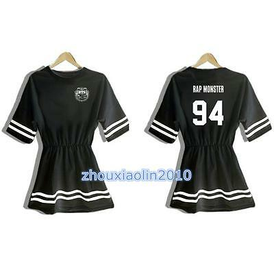 KPOP Bangtan Boys Dress BTS Jung Kook J-Hope V Jimin Suga Jin Rap monster Skirt