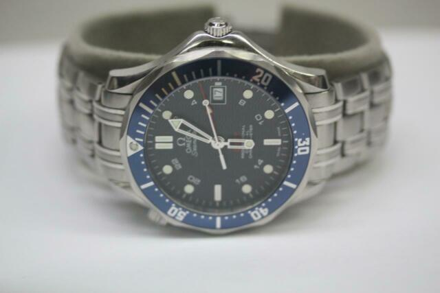 OMEGA Seamaster Diver 300M Co-Axial 41MM GMT Stainless Steel Watch 2535.80.00