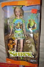 Disney Barbie Loves Shrek Doll 2004 Special Edition Princess Fiona Character