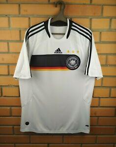 Germany Jersey 2008 2009 Home MEDIUM Shirt Football Adidas Trikot Maglia Soccer