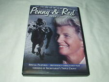 Penny & Red: The Life of Secretariat's Owner DVD Documentary Chenery Horse