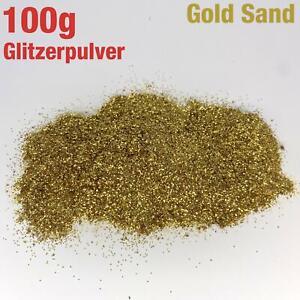 100g-Gramos-Glitzerpulver-Brillante-Arena-Oscura-Color-Oro-Artesanal-Decoracion