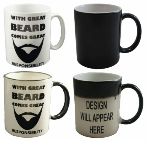 Great Beard Funny Design Novelty Gift Tea Coffee Office Ceramic Mug Beard Gang
