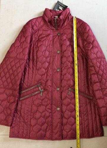 Matelassée Mona Veste 179 Taille Rrp Box42 £ Uk12r qg8gO5