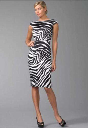 dolce gabbana Zebra Print Dress