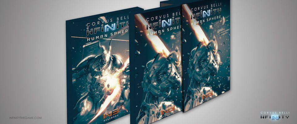 Infinity 3 Edition Human Sphere Rule Book N3 (German) 3th Rulebook German