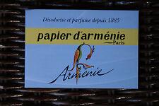 Lot 4 Véritable Papier d'Arménie désodorisant naturel « L'Année de l'Arménie »