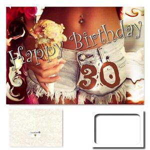 Digitaloase 30 Geburtstag Grusskarte Xxl Gluckwunschkarte