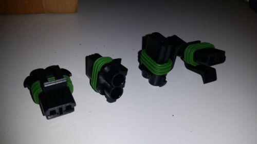 4 Delphi Automotive Connector 15300027 2 Position female Metri-Pack 280 Series