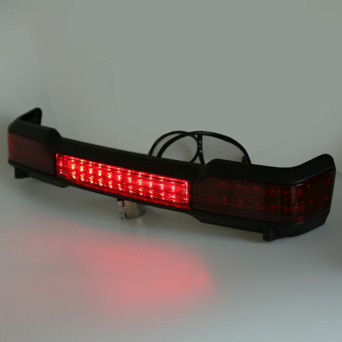 LED Tail Light Trunk King Tour Pak Wrap Around For Harley Electra Glide Touring
