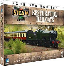 RESTORATION RAILWAYS - 4 DVD BOX SET - STEAM TRAINS - SEVERN VALLEY & MORE