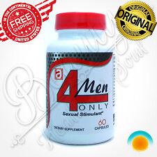 4 MEN Male Enhancement Pills Sexual Endurance Erection Stamina Libido Virility