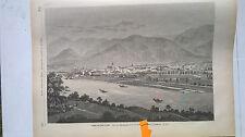 1873 299 Robert Hamerling ....eine Spalte Text / Hall in Tirol