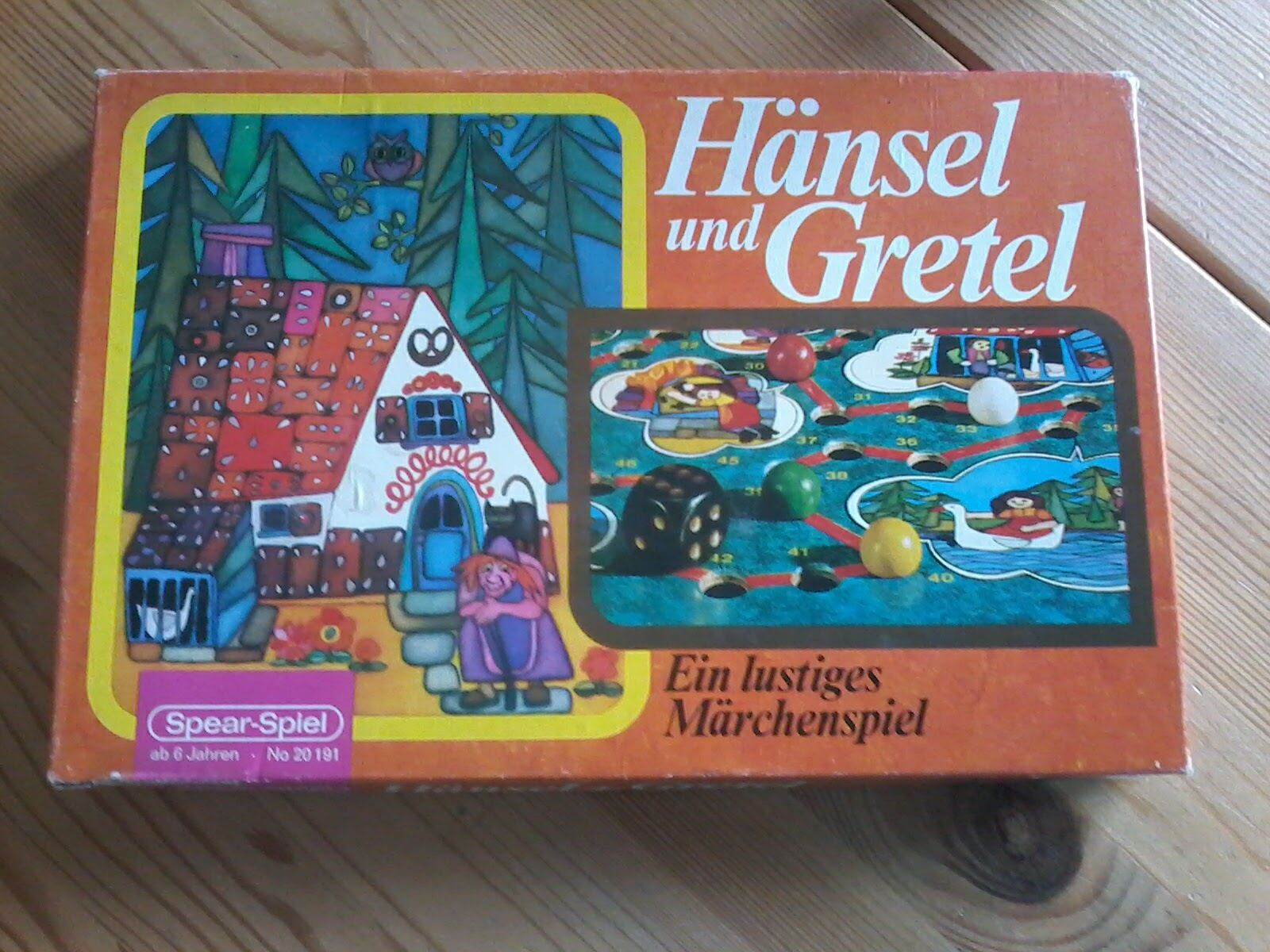 Hansel e Gretel un divertente fiabe gioco Spear-gioco 20 191, Rarità