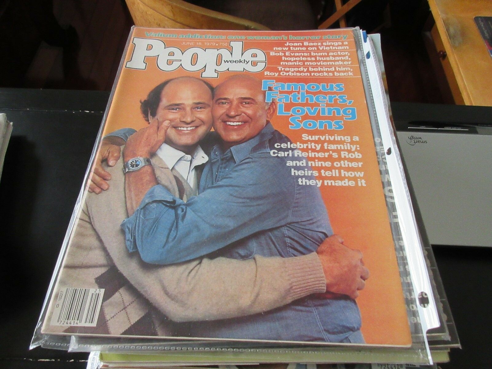 People Weekly , June 18 ,1979 , Carl & Rob Reiner , Joa