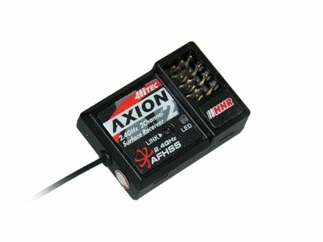 Hitec RCD - Axion 2 - 2 Ch Hhr (high Response) 2.4ghz Rx