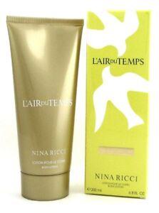 L'air Du Temps by Nina Ricci  Body Lotion for Women 6.8 oz./ 200 ml. Sealed Box