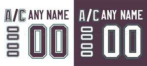 hockey jersey numbers