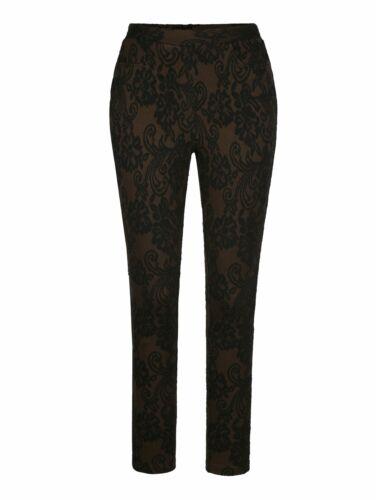 MIAMODA Leggings modisch geblümt skinny fit lang elastisch