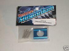 Fttx26 Fastrax Azul Frente De Aluminio Caja De Velocidades Broquero: Traxxas T-maxx Nitro Nuevo