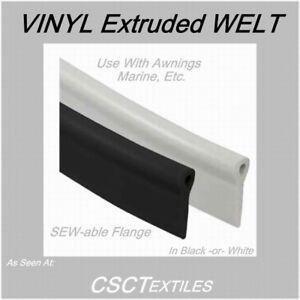 Extruded Vinyl Welt Per Roll Sew Able Pvc Gt Csctextiles