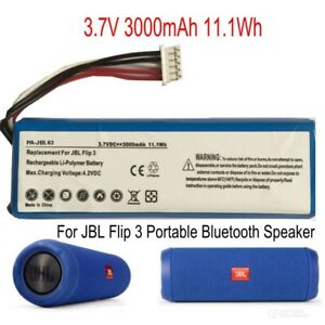 Details about GSP872693 Replacement Battery 3000mAh for JBL Flip 3 Portable  Bluetooth Speaker