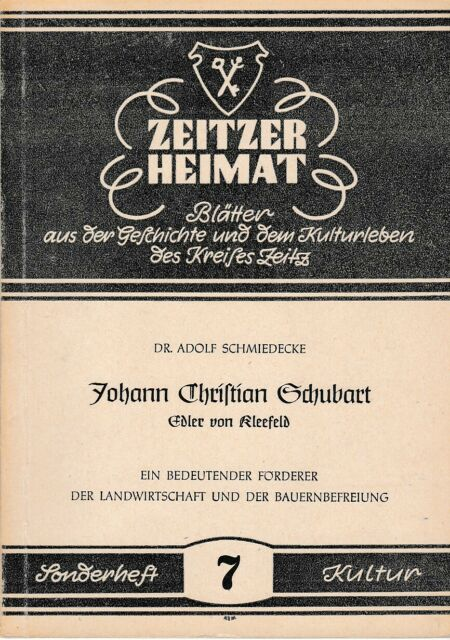 Zeitzer Home, Leaves from the history and the cultural life of the circle Zeitz