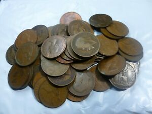 20-Assorted-British-Large-Cents-Penny-Collection-20BLCC
