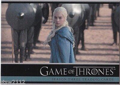 Game Of Thrones Season 3 Promo Card P3 Binder Exclusive