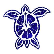 Hibiscus Turtle Ceramic Swimming Pool Mosaic