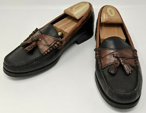 2c19b32616b Sebago - Plaza Black   Brown Tassel Leather Loafer Casual Shoes - US ...