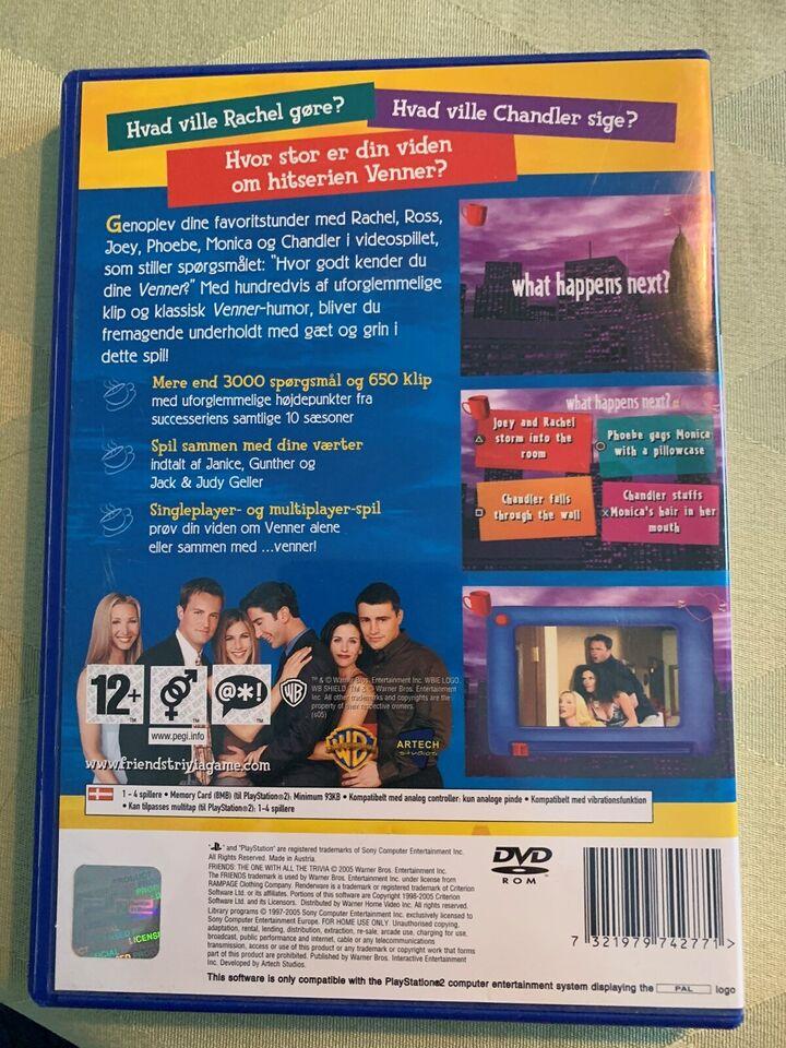 Friends , PS2, puzzle