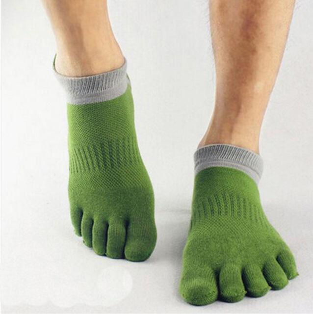 1 pairs five finger socks toe socks men's socks pure cotton sports-- us HF