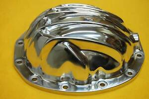 12-Bolt-Rear-End-Differential-Cover-Chevy-Polished-Aluminum-Fit-Camaro-Chevelle