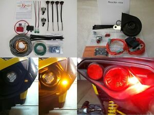 TS LED Turn Signal Kit + Horn for Can-Am Defender ...