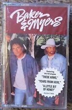 """BAKER & MYERS """"BAKER & MYERS"""" 1995 STILL SEALED CASSETTE-THEIR ONLY RELEASE OOP!"""