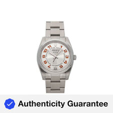 Rolex Air-King Auto 34mm Steel Mens Oyster Bracelet Watch 114200