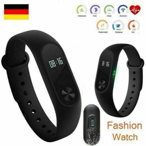 Neu Sport Schrittzähler Smartwatch Armband Uhr für iPhone Aktivitätstracker